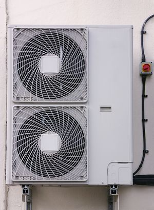 Air conditioning exhaust